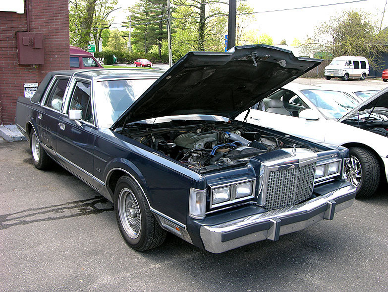 1982 lincoln town car. Black Bedroom Furniture Sets. Home Design Ideas