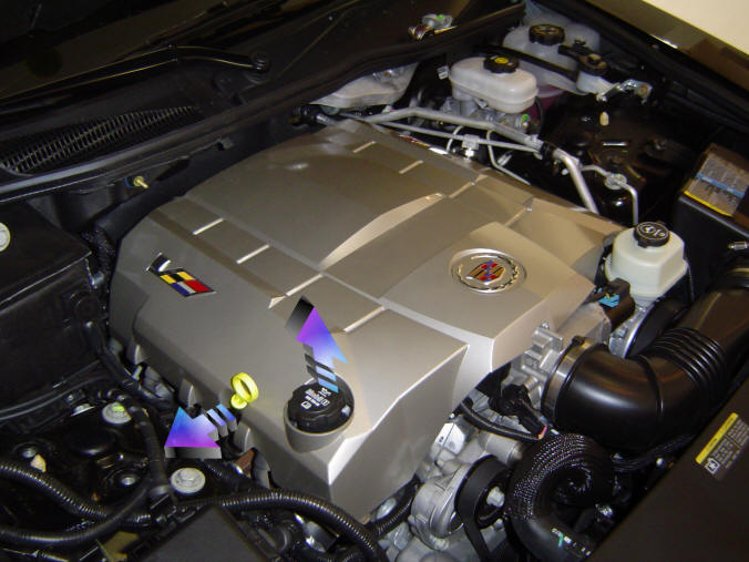 Z06V Engine Covers Installation on the Cadillac CTS V