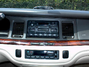 Stereo and Speaker Swap - 1995-1997 Lincoln Town Car on