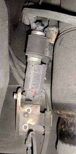 How To Lower The Lincoln Mark Viii Suspension Sensor