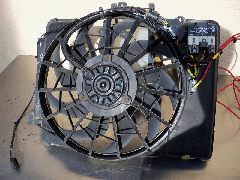 V8 Hydraulic to electric fan for $100  Taurus fan, Volvo