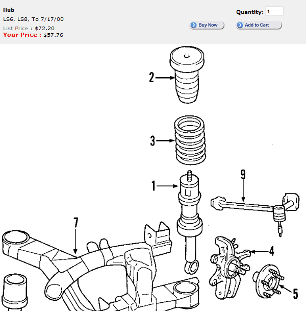 lincoln town car rear axle diagram html