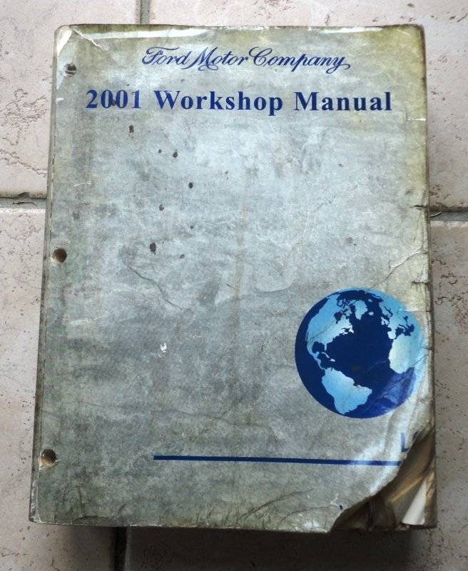 2001 Lincoln LS shop manual #1.JPG