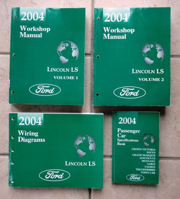 2004 Lincoln LS shop manual #1.JPG