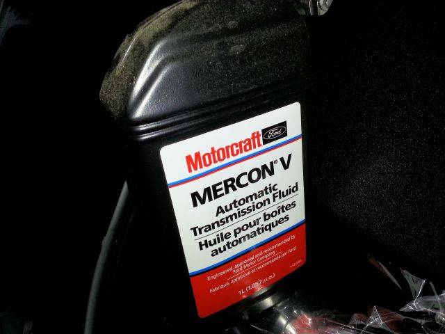 Mercon V: 10 Quarts Of Ford Motocraft Mercon V Mercon LV