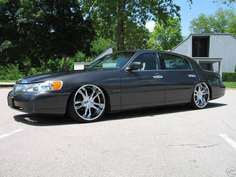 2007 lincoln town car rims choice image