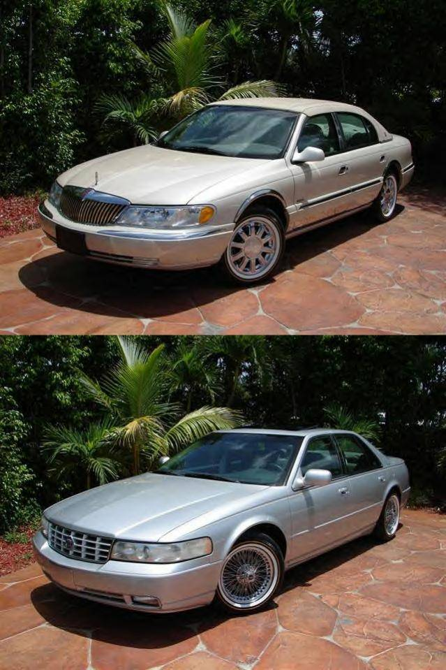 Don T See Any 98 02 Conti On Vogue Tires Lincoln Vs Cadillac