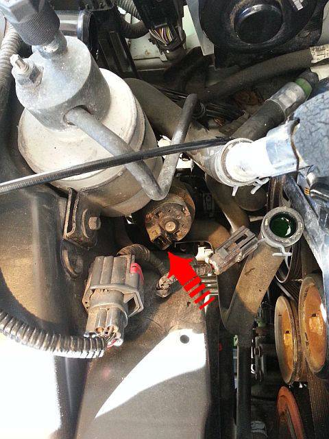Engine Coolant Low >> Re&Re - OEM Auxiliary Coolant Flow Pump - GEN 1 V8 | Lincoln vs Cadillac Forums