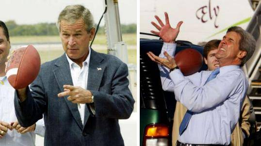 bush vs kerry essay This essay presidential campaign financing and spending and other 63,000+ term papers, college essay examples and free president bush and sen john kerry.