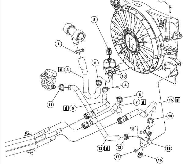 2002 Lincoln Ls Cooling System Diagram