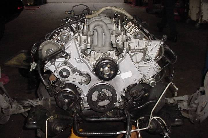 When should the timing belt be replaced – Lincoln Mark Viii Engine Diagram