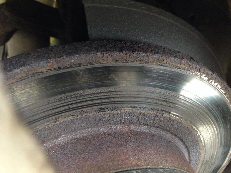 Best Brake Pads >> Rear brakes rusted, be aware | Lincoln vs Cadillac Forums