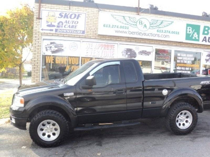 2004 ford f 150 stx 4x4 lincoln vs cadillac forums. Black Bedroom Furniture Sets. Home Design Ideas