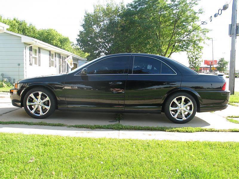 2002 Lincoln Ls Tint 18 Quot Wheels Black Lincoln Vs