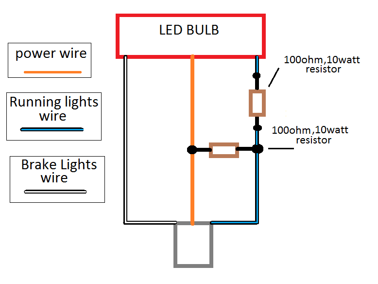 how to wire led lights lincoln vs cadillac forums