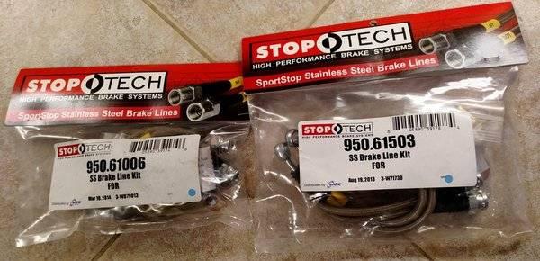 Lincoln LS Stop Tech brake lines.jpg