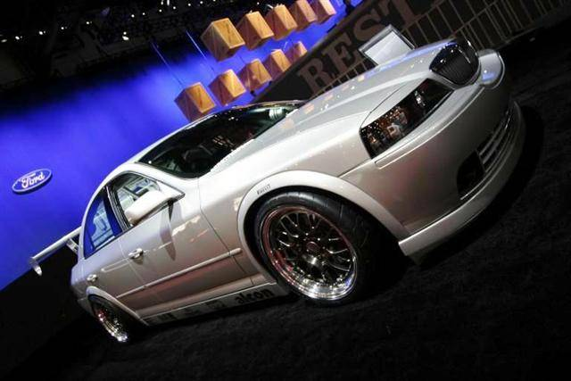 Lincoln Ls R At Sema Photos Lincoln Vs Cadillac Forums