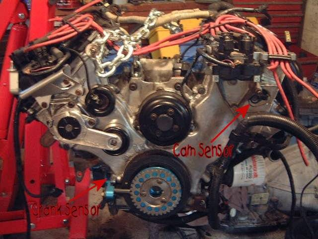Location Of Cam Position Sensor And Crank Sensor Lincoln
