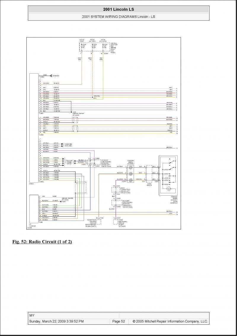 Radio Wiring Diagram For 01