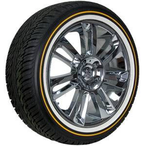 hey guys cant find any pics or anything so wondering if anyone has and whitewall tires just like the cadillac has